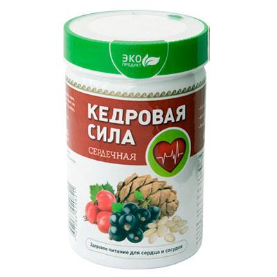 Продукт Белково-Витаминный «Кедровая Сила Сердечная»